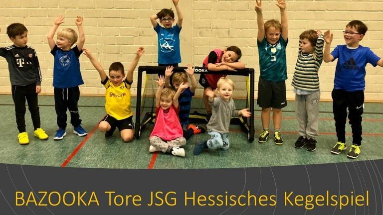 PROJEKT 2020: BAZOOKA Tore JSG Hess. Kegelspiel