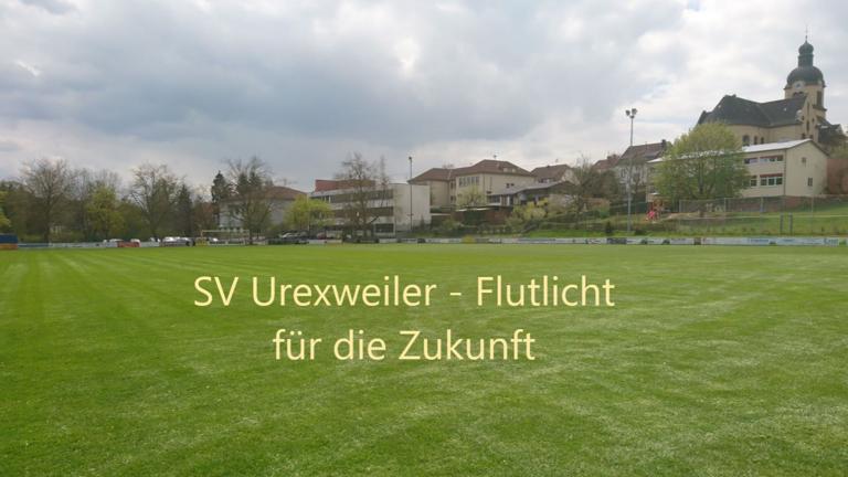 Modernisierung Flutlicht SV Urexweiler