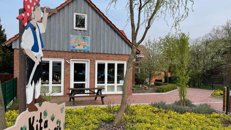Volksbank: Werkstatt für Kindergarten in Auhagen