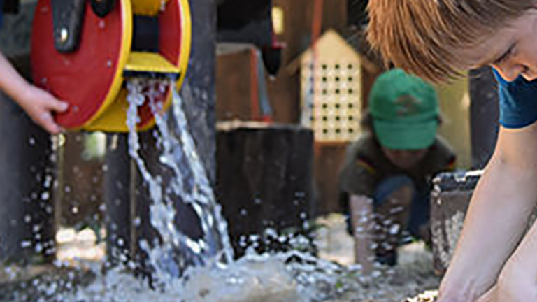 Wasserspielplatz KiTa Ottersberg Bhf