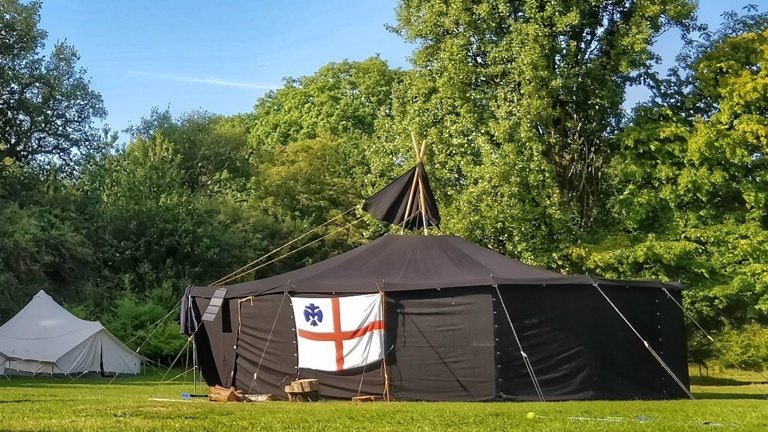 neues Zeltmaterial für die Pfadfinder Winterscheid