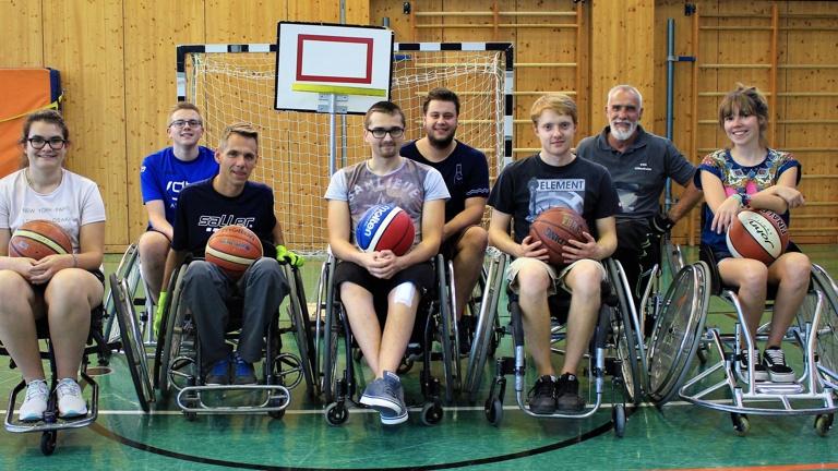 Rollstühle für die Rollstuhlbasketballer Uffenheim