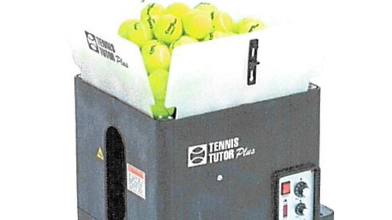 Ballwurfmaschine für TC Ganacker