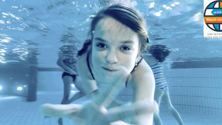 Kids auf Schwimmkurs in Salzgitter