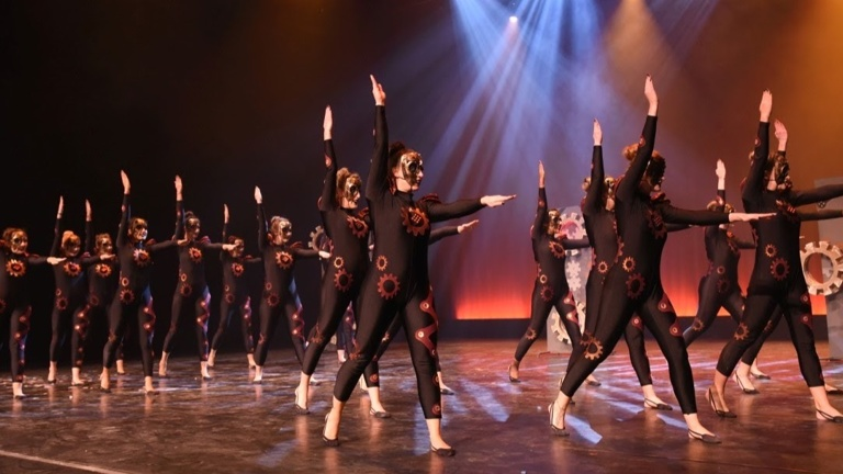 Energetic tanzt bei der Weltgymnaestrada 2019