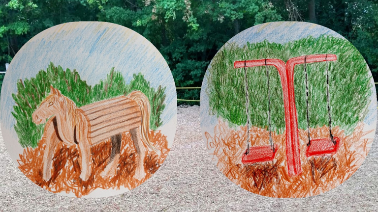 Neue Spielgeräte für den Schedener Schulhof