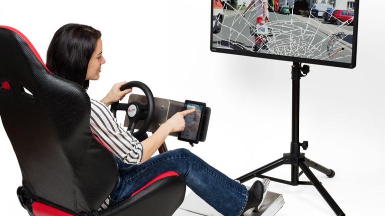 Fahrsimulator für mehr Sicherheit im Verkehr