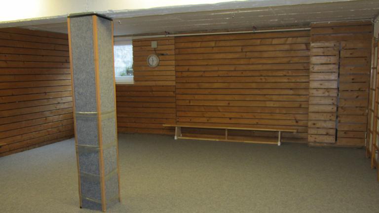 Renovierung Turnraum unseres Kindergartens