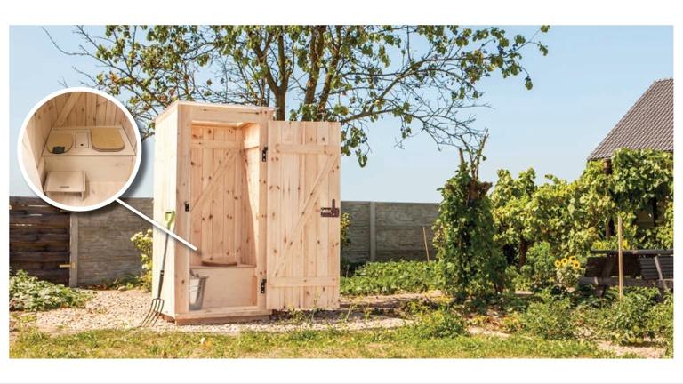 Komposttoilette für die Waldkinder Flörsbachtal