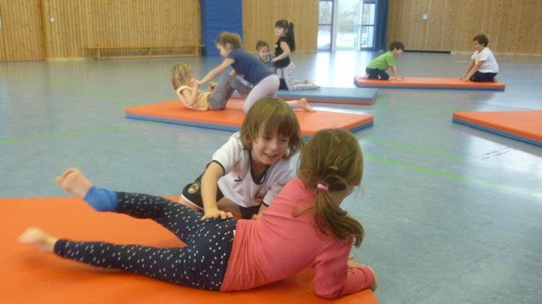 Karate in der Kita St. Johann, Kaufering