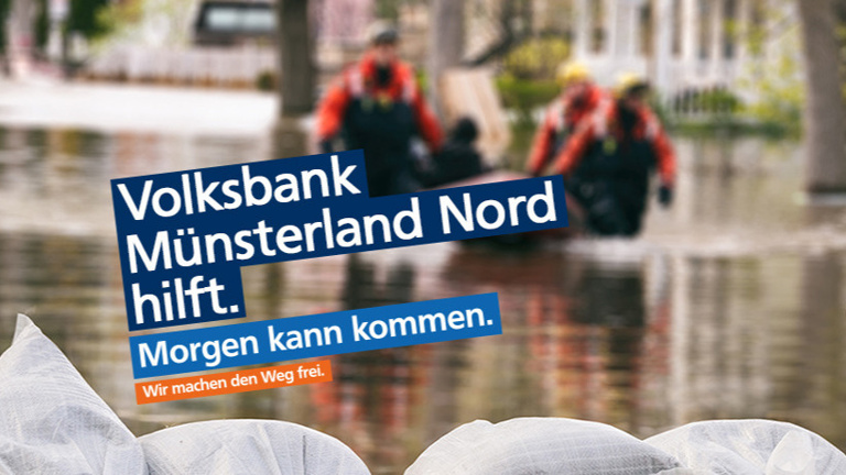 Volksbank Münsterland Nord hilft