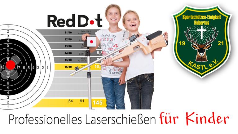 Laserzielanlage für Kids
