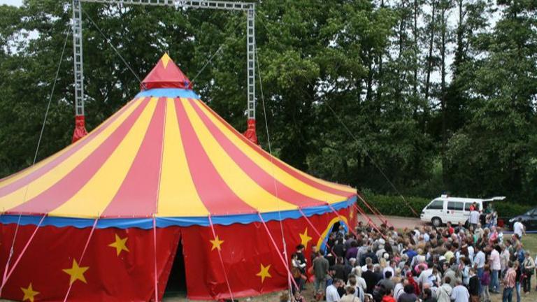 Zirkusprojekt in der Regenbogenschule Steinfurt