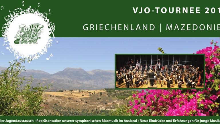 Mazedonien / Griechenland-Tournee des Verbandsjugendorchesters Hochrhein