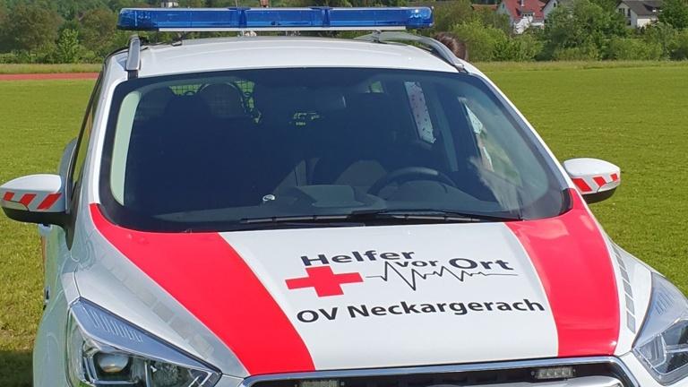 Defibrillator mit EKG und Pulsoxymeter für die HvO
