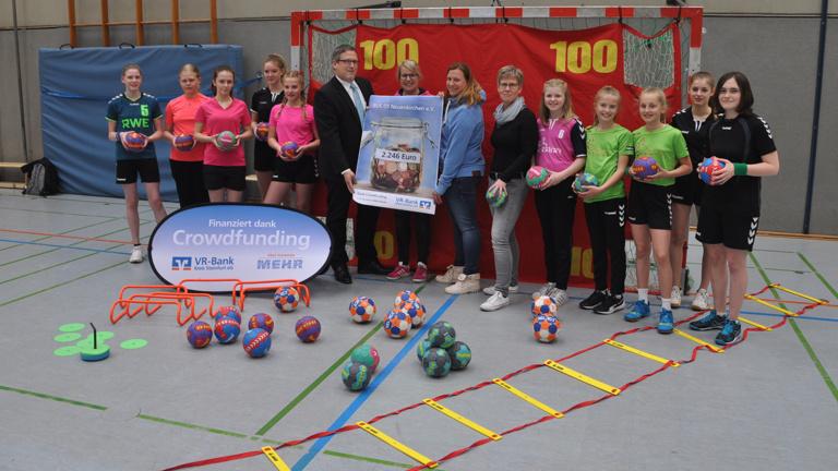 Neue Trainingsmaterialien für den Handball