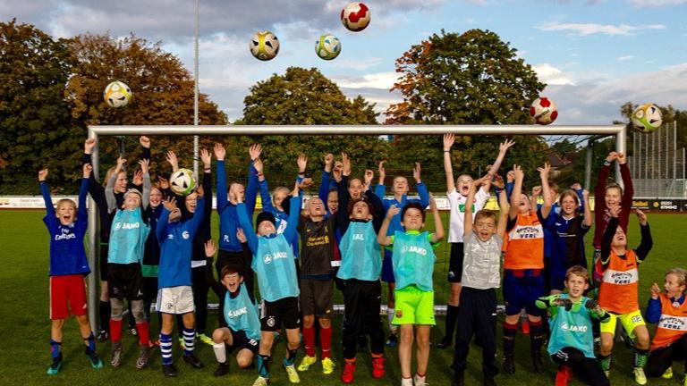 Tore für die Fußballjugend