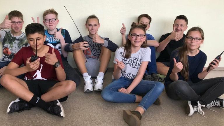 Das Zwönitzer Gymnasium spricht mit der ISS