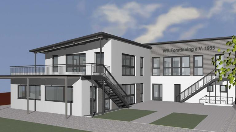 Neubau des Vereinsheims