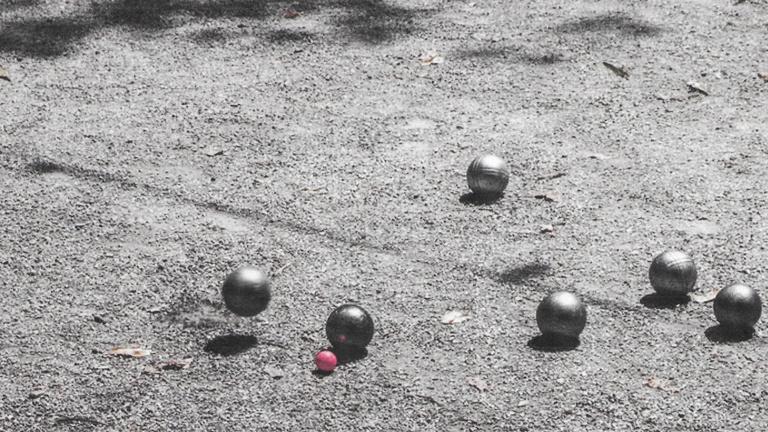 Neuer Boule-Platz - lasst uns mal Boule spielen