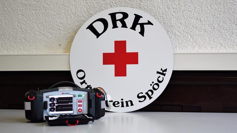 Defibrillator für das DRK Spöck e.V.