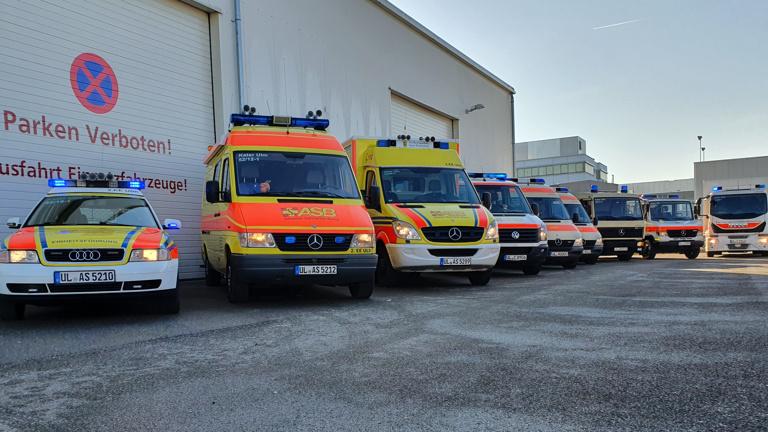 Kommandowagen für den Bevölkerungsschutz ASB Ulm
