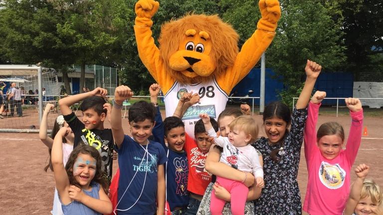 Körni - Unser Löwenmaskottchen für die Kids