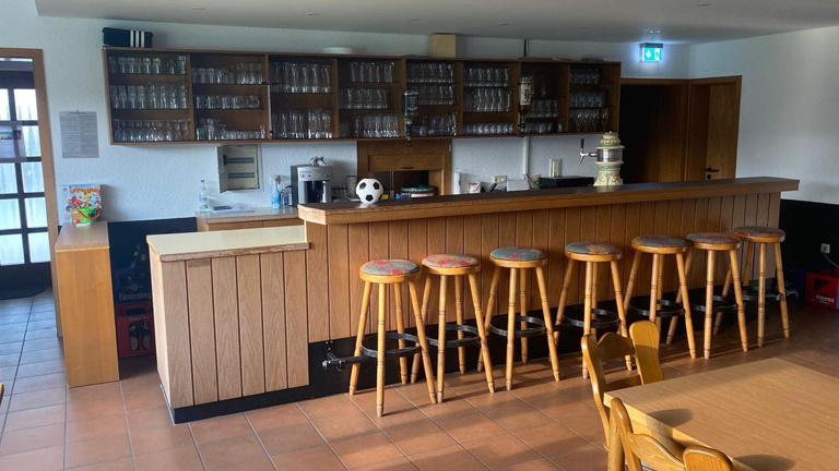 Modernisierung der Clubhaus-Innenausstattung