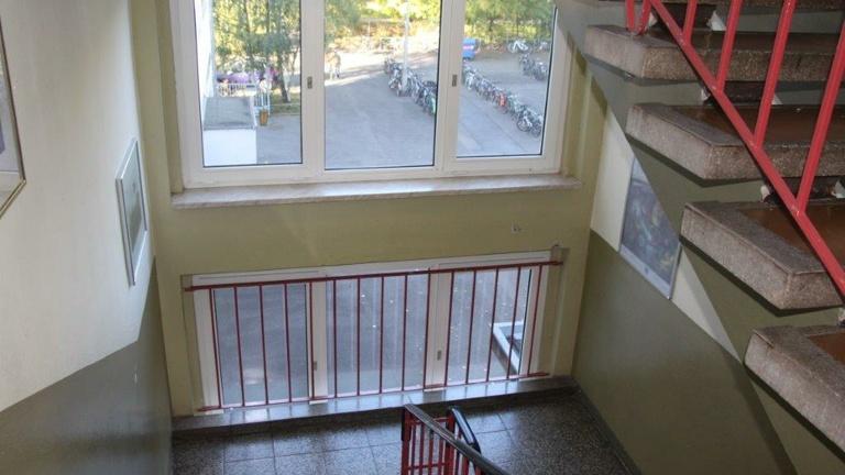 Neugestaltung des Treppenhauses am Holzland-Gymnasium