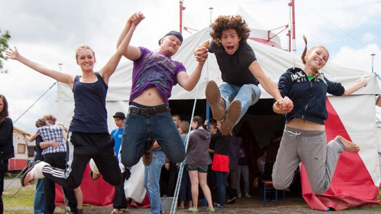 Circus-LUNA Projektwoche der Grund- u.Mittelschule