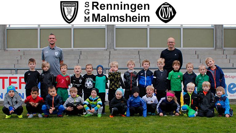 Trikots für den Jugendfußball der SGM Renningen Malmsheim!