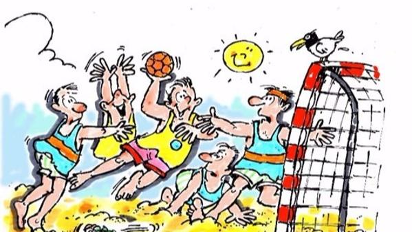 Neuer Beachhandball Platz in Emlichheim