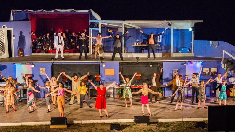 Bühnenbau und Technik für Musical 2020