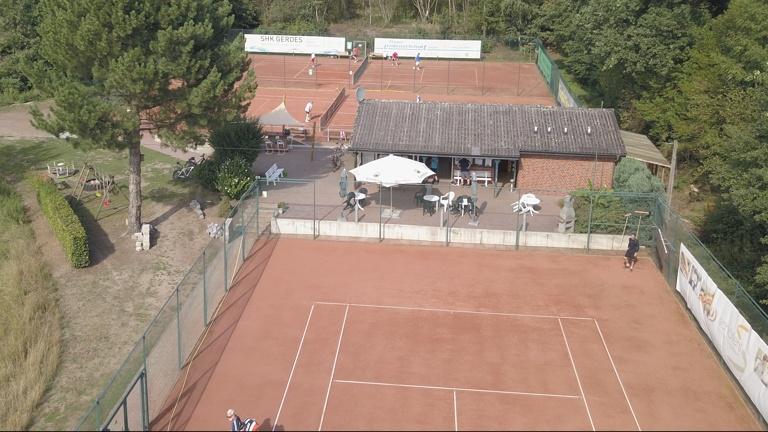 Ballmaschine Tennisabteilung Teuto Riesenbeck
