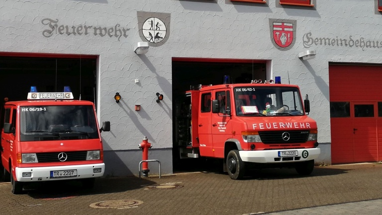 Notstromaggregat für das Gerätehaus in Gusenburg
