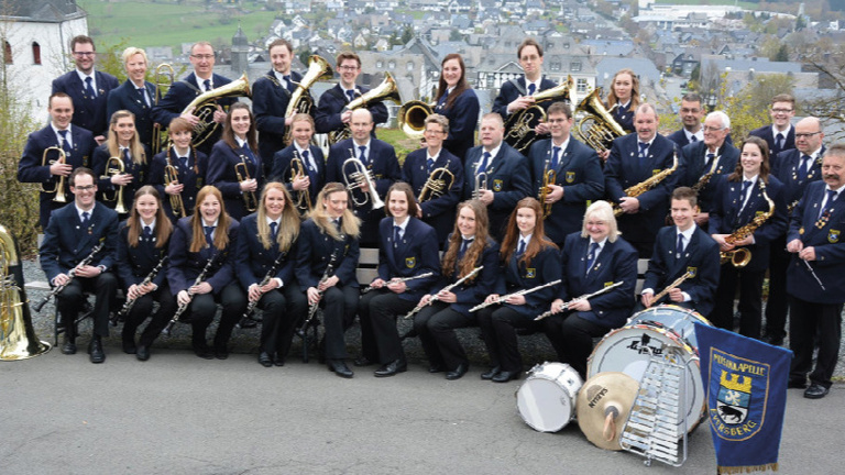 Neue Uniform Musikkapelle Eversberg