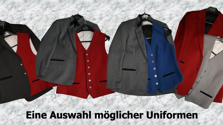Neue Uniformen für den Musikverein Lyra Leonberg