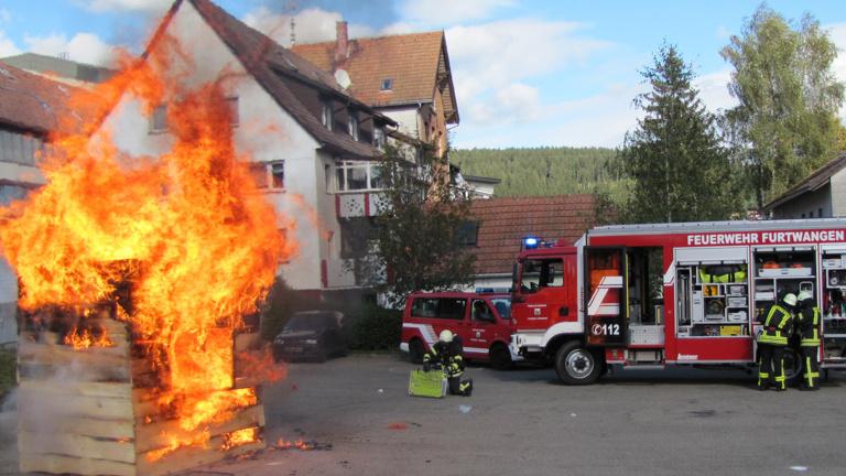 Feuerlöschübungsanlage