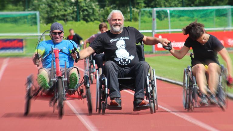 24h-Rollstuhlrennen