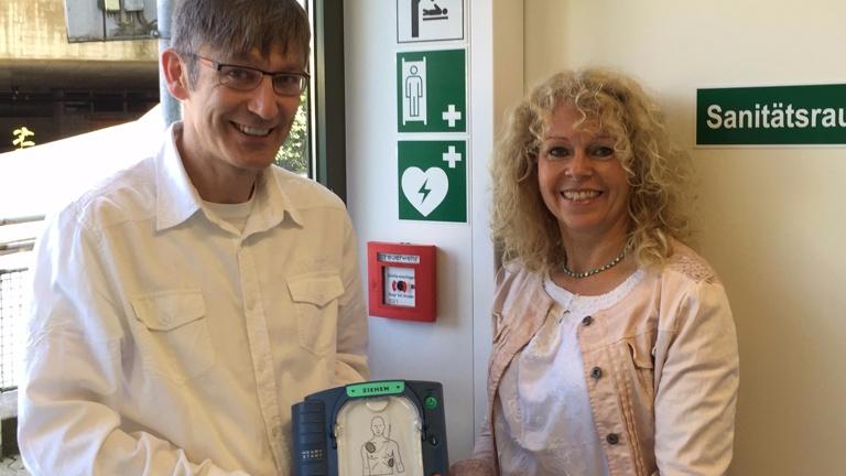Defibrillator für Markdorf