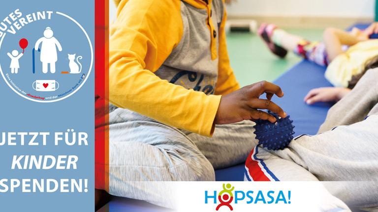 Hopsasa Kids in Bewegung