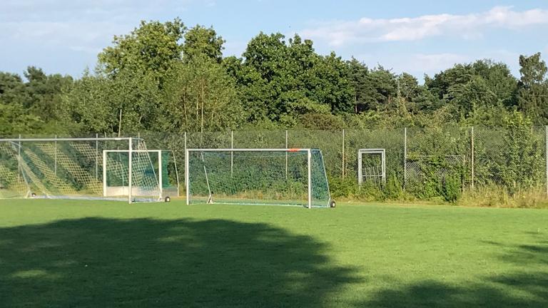 Ballfangzaun für den Sportpark Schweinau