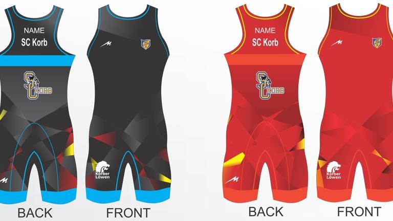 Anschaffung Sportbekleidung im Löwen-Look