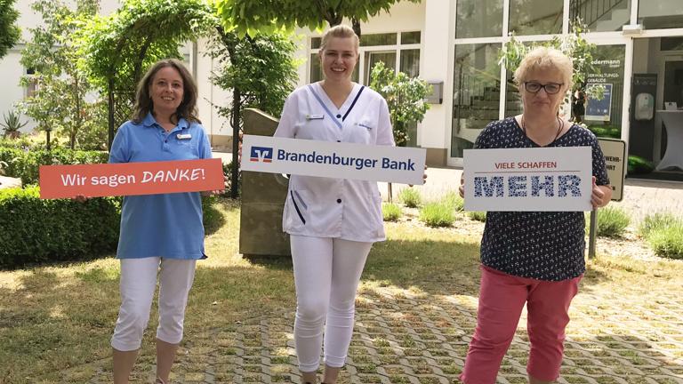 Neue Zimmereinrichtung für das Hospiz Brandenburg