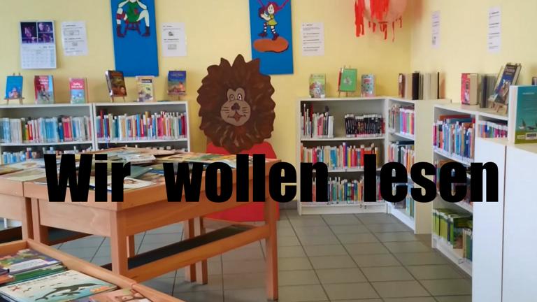 Wir wollen lesen