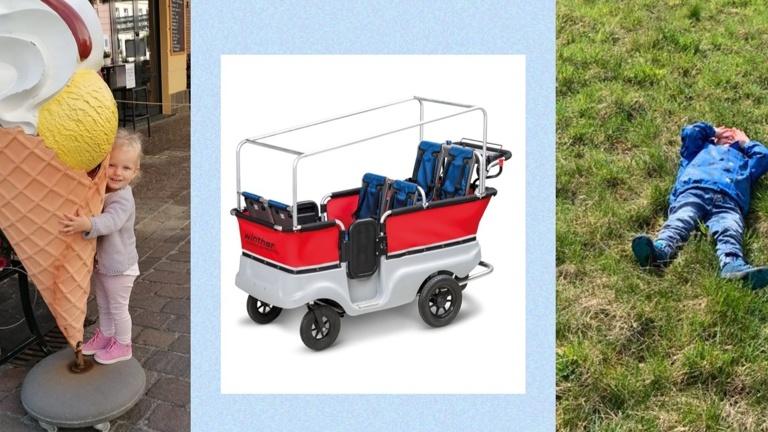 Ein Kinderbus für unsere Krippenkinder