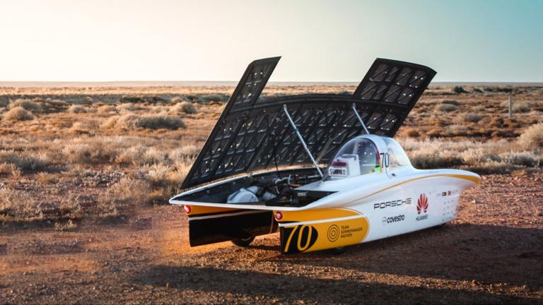 Sonnenwagen - mit eurer Hilfe nach Australien