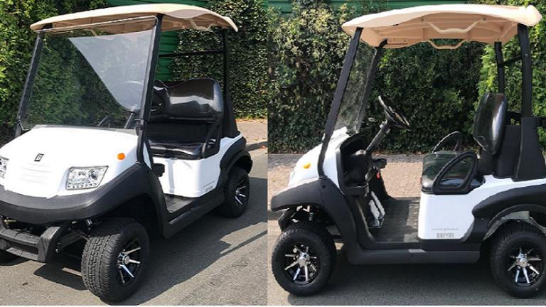 Neues Golfcart