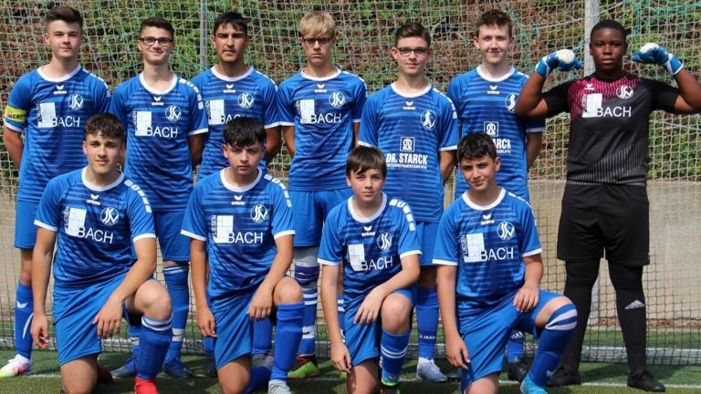 Wir sind eine Mannschaft - Traininganzüge für die U17 des Siegburger SV 04