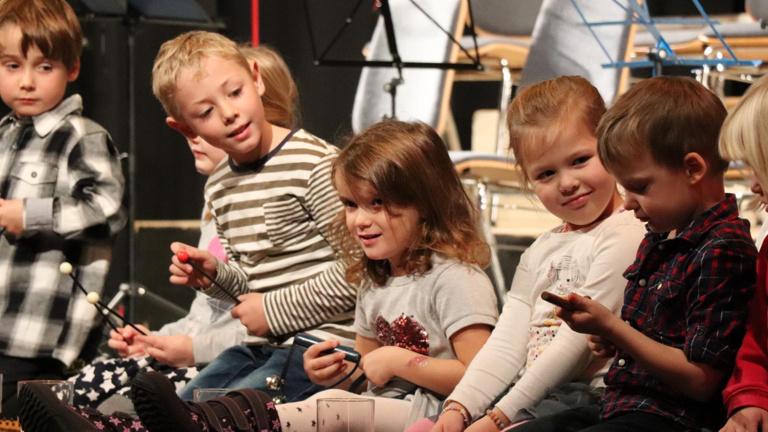 Kindgerechte Musikinstrumente in der Früherziehung